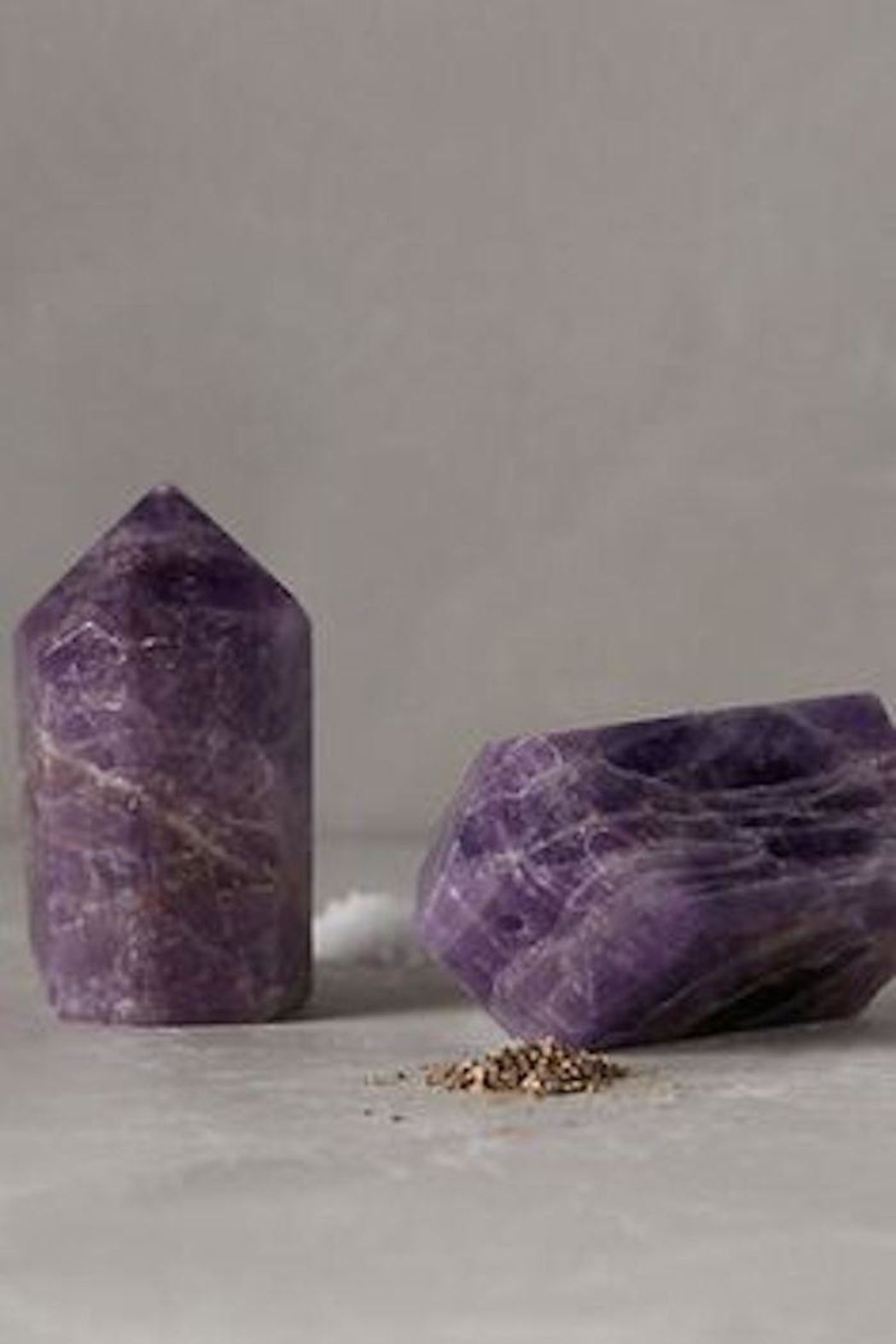 Roost Amethyst Salt/pepper Shakers - Front Cropped Image