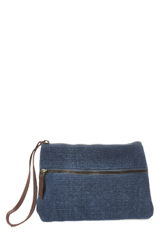 Roost Denim Clutch - Product List Image