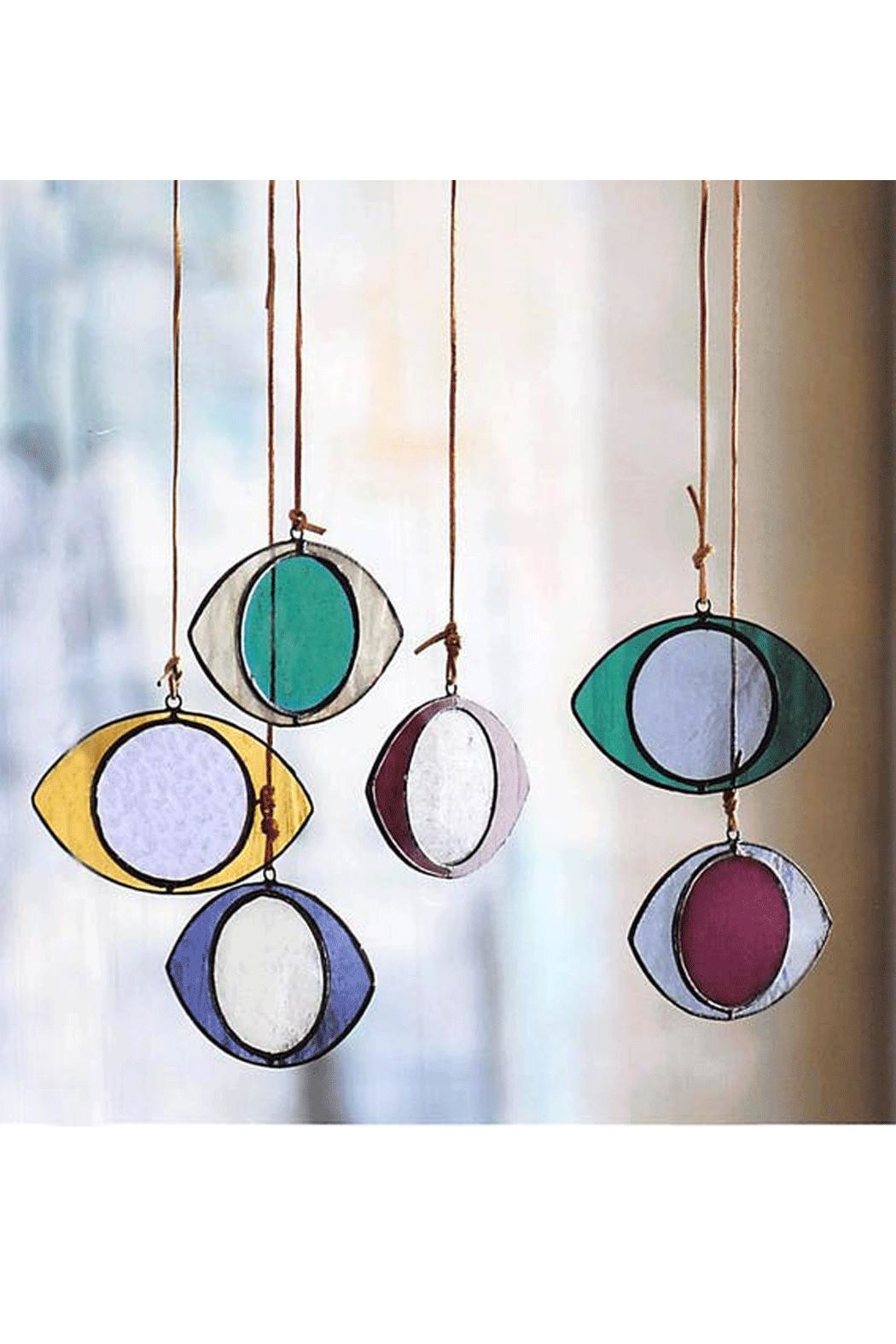 Roost Eye Stained-Glass Ornaments - Main Image