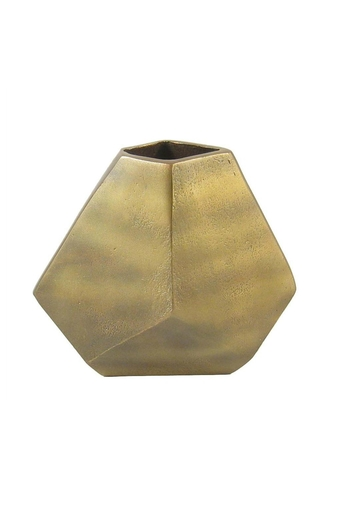 Roost Geometric Gold Vase From Austin By Heather Scott Home Design