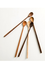 Roost Long-Handle Tasting Spoon - Front full body