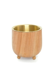 Roost Teak Planter Cup - Product Mini Image