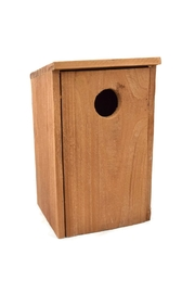 Roost Wooden Birdhouse Large - Front cropped
