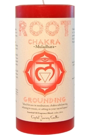 Crystal Journey Candles Root Chakra Candle - Product Mini Image