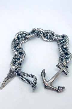 Barry Brinker Fine Jewelry Rope Link Anchor - Product List Image