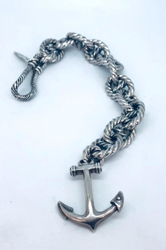 Barry Brinker Fine Jewelry Rope Link Anchor - Alternate List Image