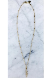 Rope the Moon Gold Bolt Necklace - Product Mini Image
