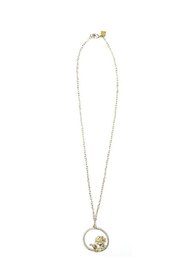 Rope the Moon Ivy Bloom Necklace - Front cropped