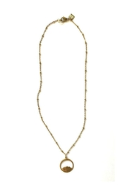 Rope the Moon Lotus Necklace - Product Mini Image