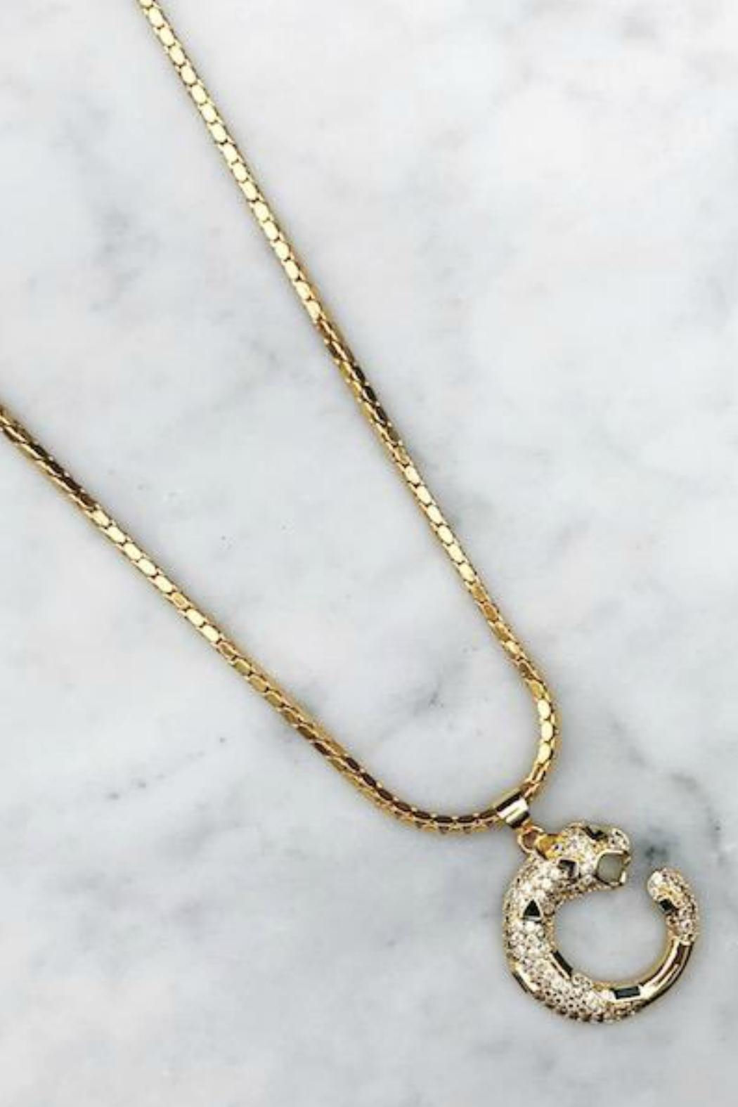 Rope the Moon Revival Pendant Necklace - Front Full Image