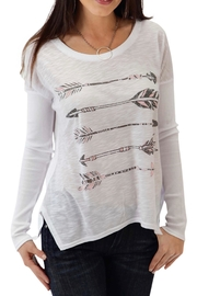 Roper Arrows Long Sleeve Top - Product Mini Image