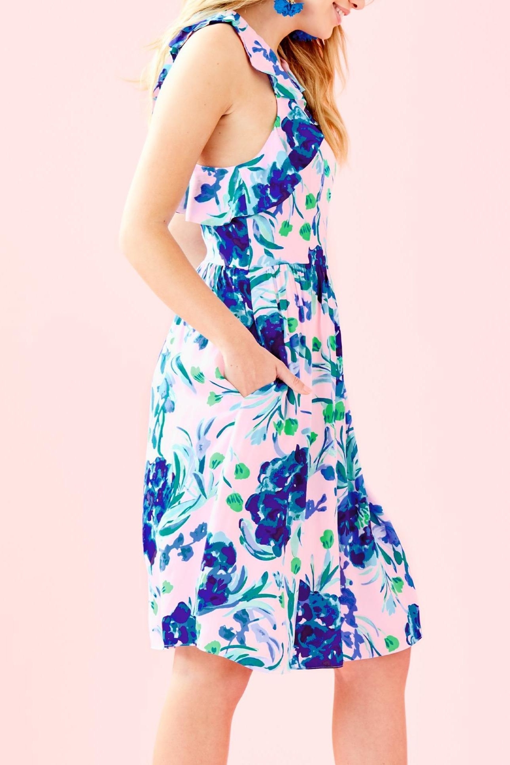 Lilly Pulitzer Rory Dress - Side Cropped Image