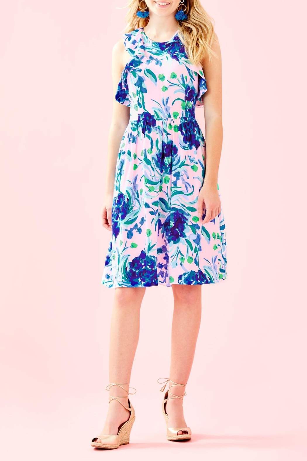 Lilly Pulitzer Rory Dress - Back Cropped Image