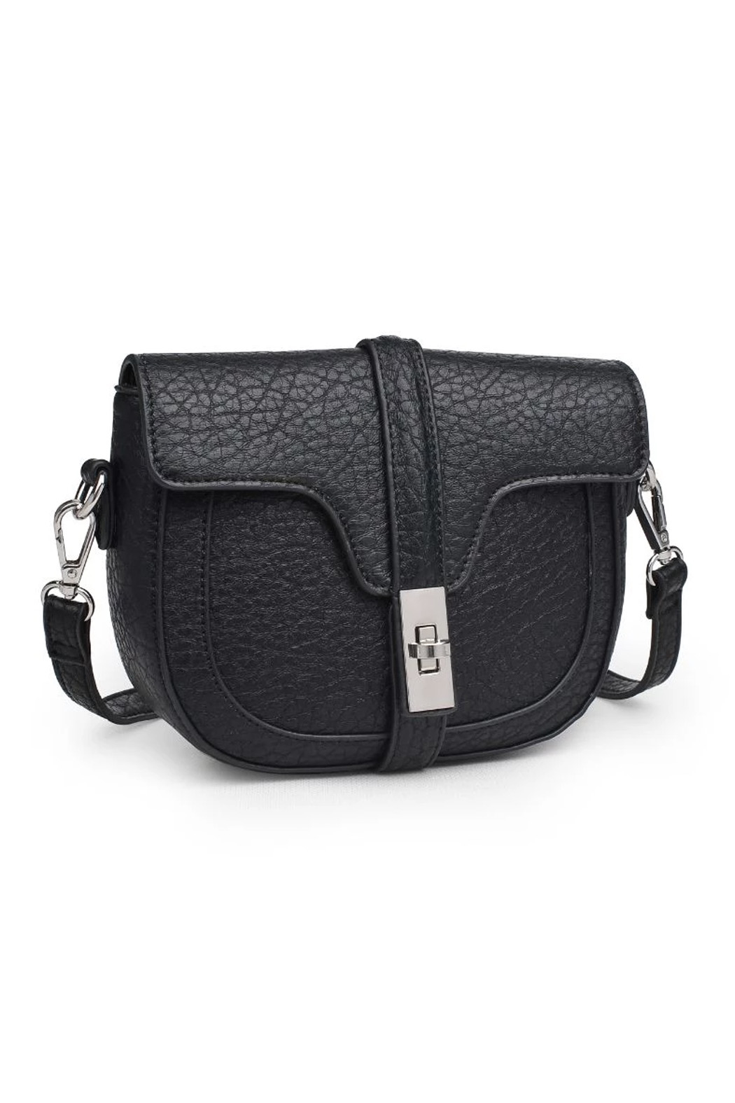 Urban Expressions Rory Vegan Leather Crossbody - Front Full Image