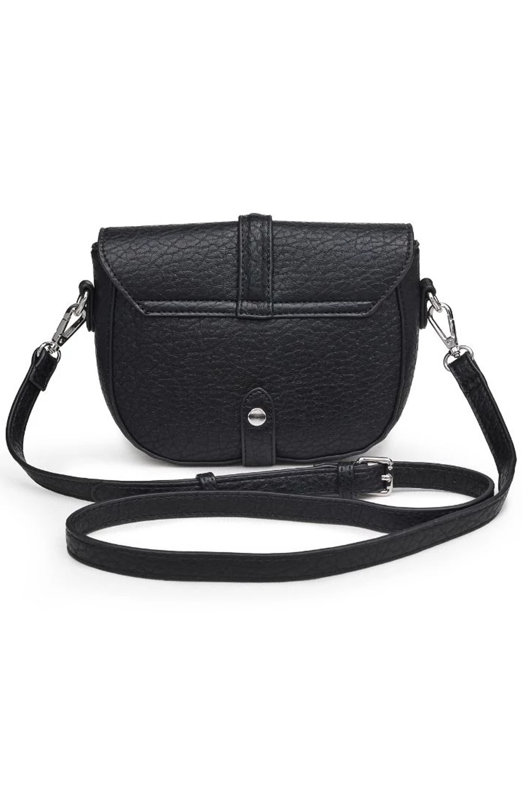 Urban Expressions Rory Vegan Leather Crossbody - Back Cropped Image