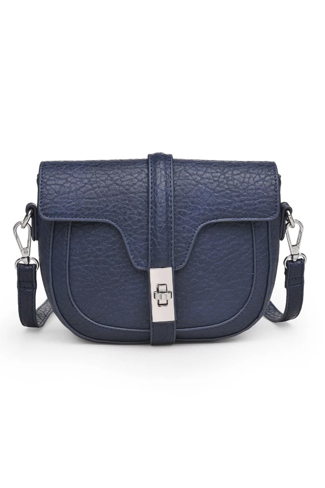 Urban Expressions Rory Vegan Leather Crossbody - Front Cropped Image