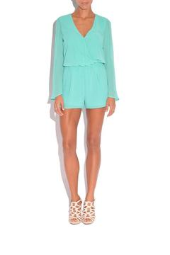 Shoptiques Product: Flared Sleeve Romper