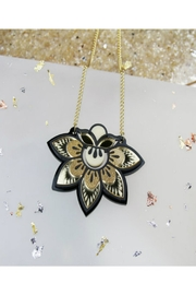 Rosa Pietsch Petal Flower Pendants - Product Mini Image