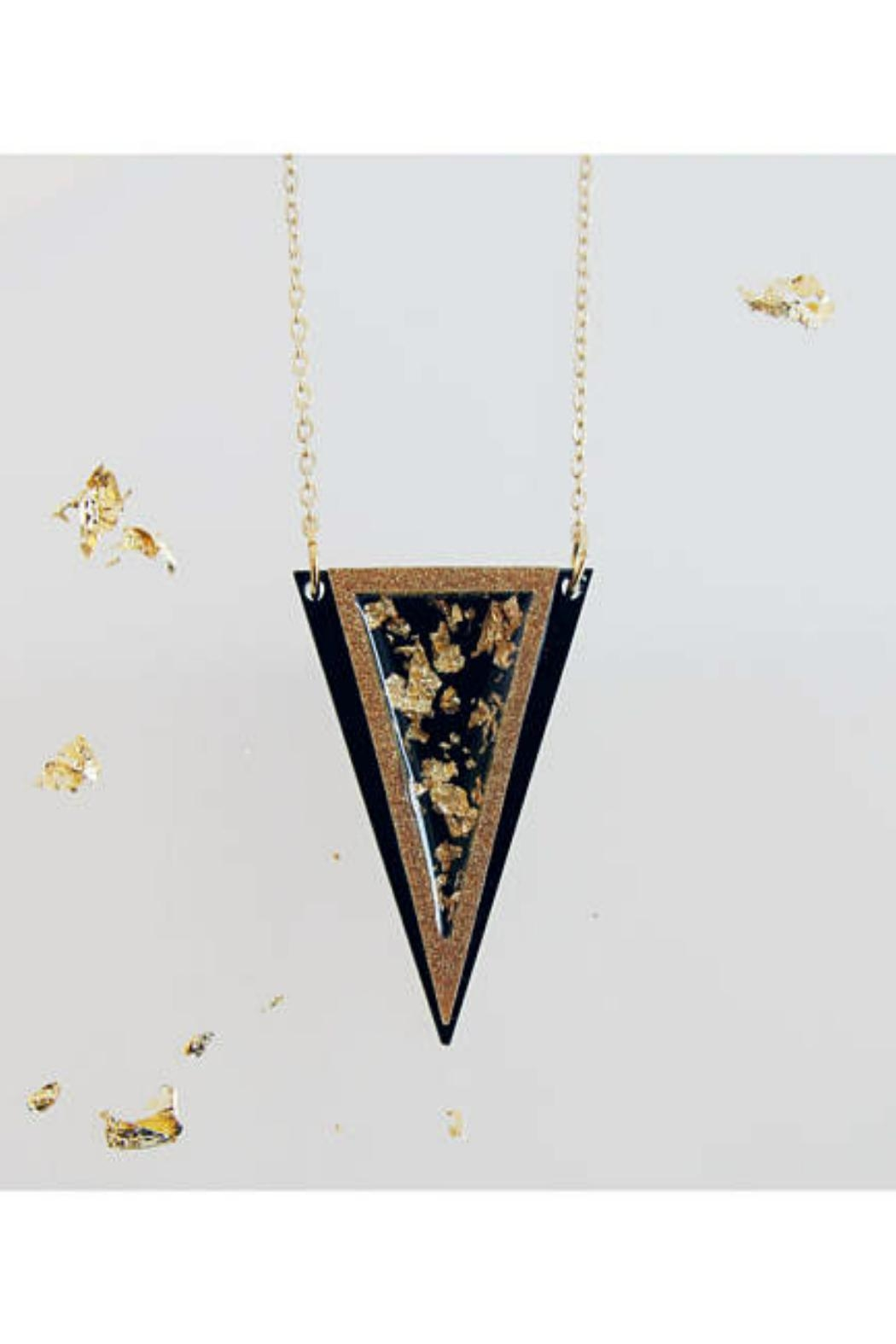 Rosa Pietsch Triangle Pendant Necklaces - Main Image