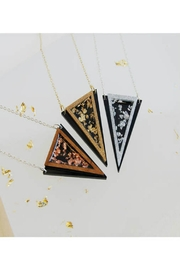 Rosa Pietsch Triangle Pendant Necklaces - Side cropped