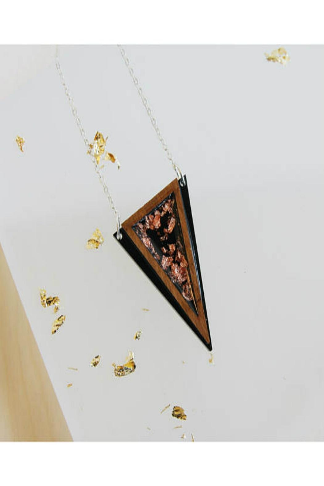Rosa Pietsch Triangle Pendant Necklaces - Front Cropped Image