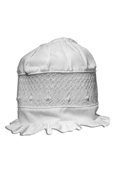 Shoptiques Product: Smocked Baby Bonnet