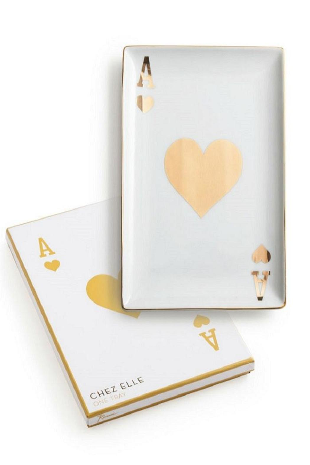 Rosanna Ace Of Hearts Tray - Main Image
