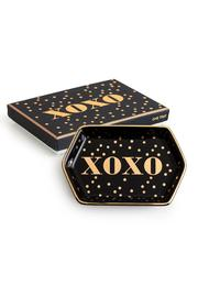 Rosanna Porcelain Xoxo Tray - Product Mini Image