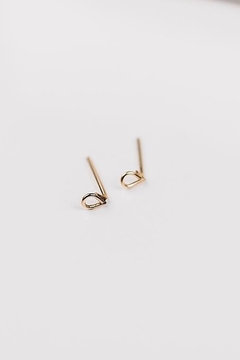Sarah Briggs Rosanna Teardrop Post Earring - Product List Image