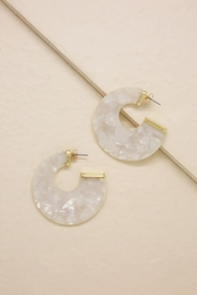 Ettika Rosarito Acrylic Earrings - Product Mini Image
