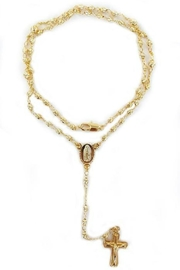 Minx Rosary Necklace - Front cropped