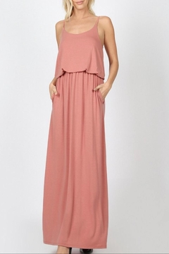 a4b125c4963 Zenana Outfitters Rose Adjustable-Strap Maxi - Alternate List Image ...