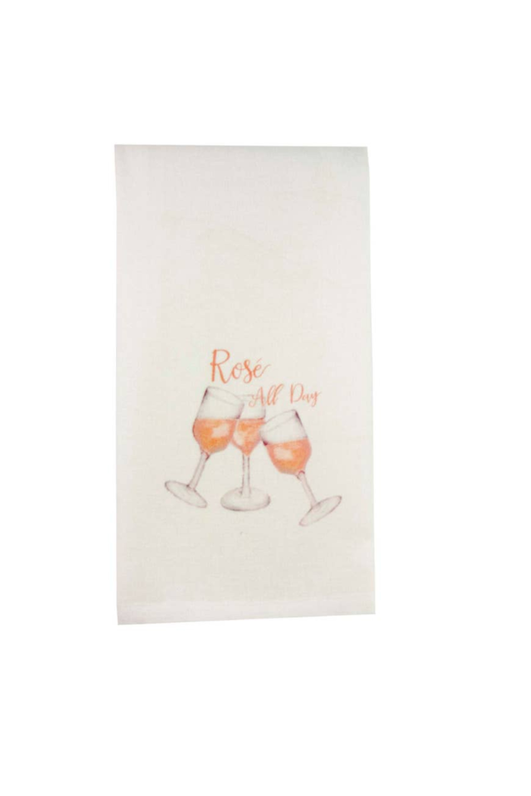 The Birds Nest ROSE' ALL DAY DISHTOWEL - Front Cropped Image