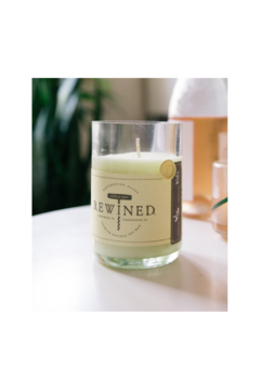 The Birds Nest ROSE BLANC CANDLE(100 % SOY WAX) - Product List Image