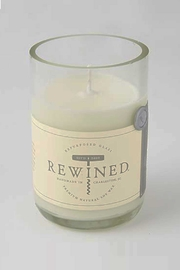 Rewined Candles Rose Blanc Candle - Product Mini Image