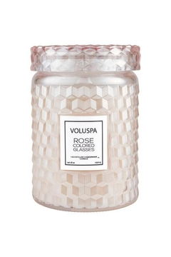 Shoptiques Product: Rose Colored Glasses Large Jar Candle