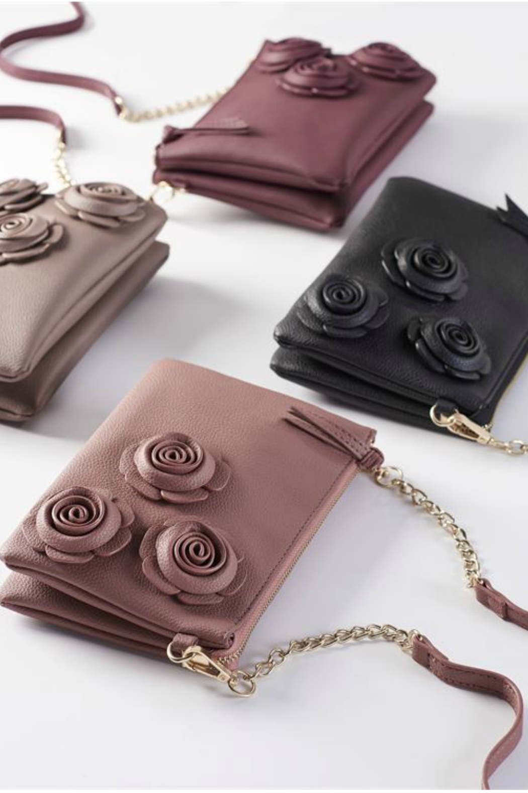 Gift Craft Rose Crossbody - Front Full Image