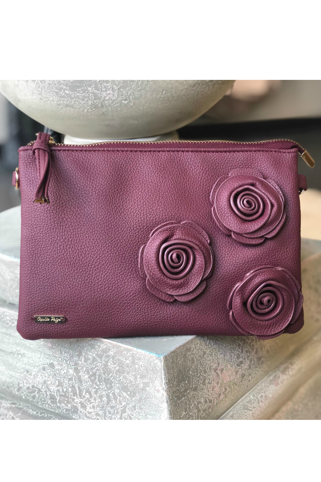 Gift Craft Rose Crossbody - Front Cropped Image