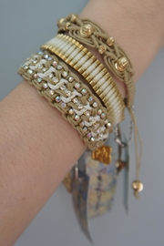 Rose Crystal Beads Bracelets - Front cropped