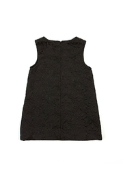 Doe a Dear Rose-Embroidered A-Line Dress - Front full body