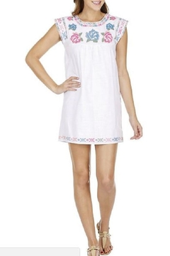 Joy Joy Rose Embroidered Dress - Alternate List Image