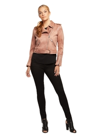Dex Rose Faux-Suede Moto-Jacket - Product Mini Image