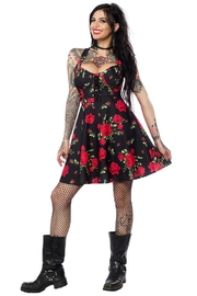 Sourpuss Rose Garden Dress - Product Mini Image
