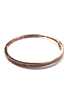 BeJe Rose Gold Bangle - Alternate List Image
