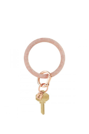 The Birds Nest ROSE GOLD CONFETTI SILICONE O-RING - Product Mini Image