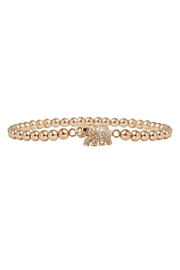 Jaimie Nicole Rose-Gold Elephant Bracelet - Product Mini Image