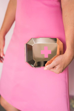 Blingsting Rose Gold First Aid Clutch - Alternate List Image