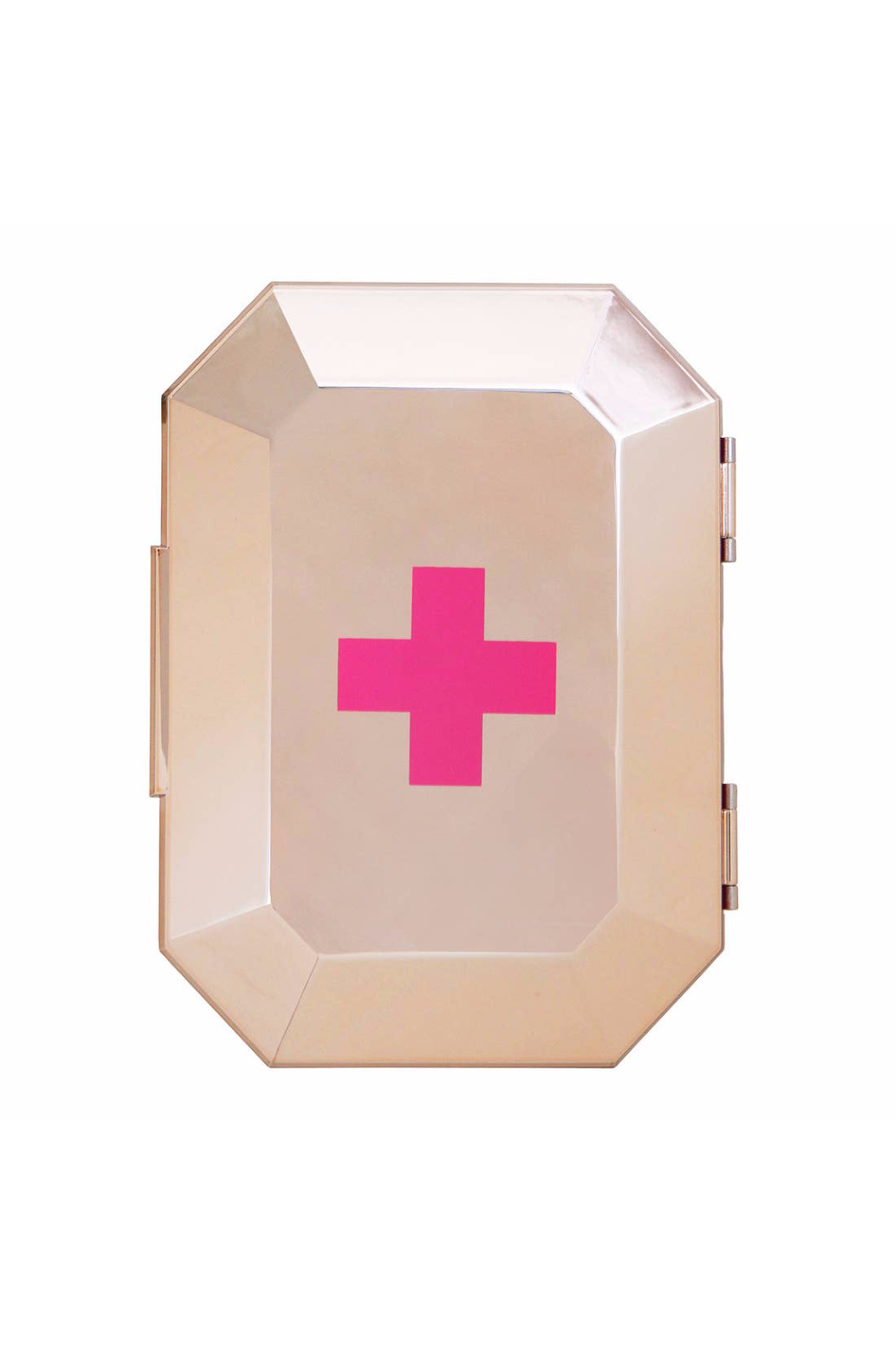 Blingsting Rose Gold First Aid Clutch - Main Image