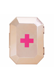 Blingsting Rose Gold First Aid Clutch - Front cropped