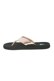 Corky's Shoes Rose Gold Flip Flop - Front cropped